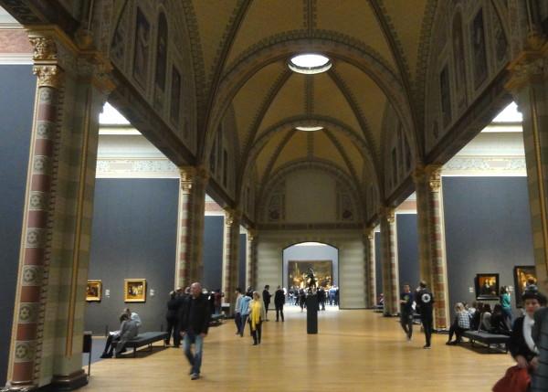L'intérieur du Rijksmuseum fait partie des visites virtuelles disponibles sur Internet