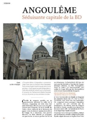 Article sur Angoulême dans le magazine MaVilleAMoi n°34
