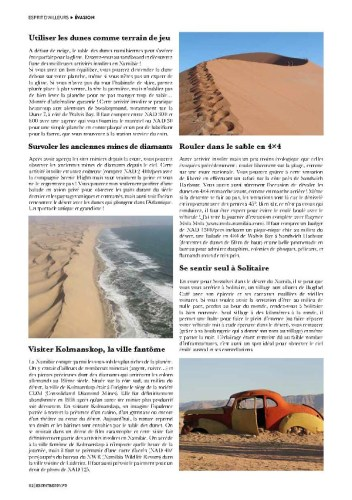page 2 article Namibie magazine Esprit Berry 2