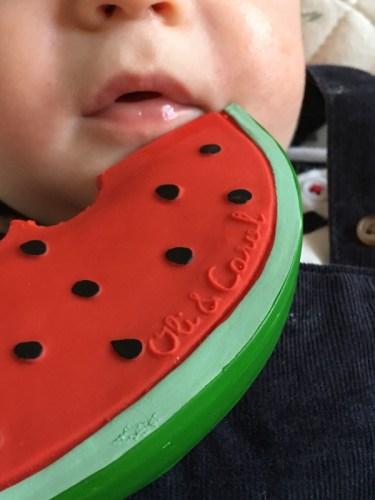 bouche bébé pastèque - blog bar à voyages