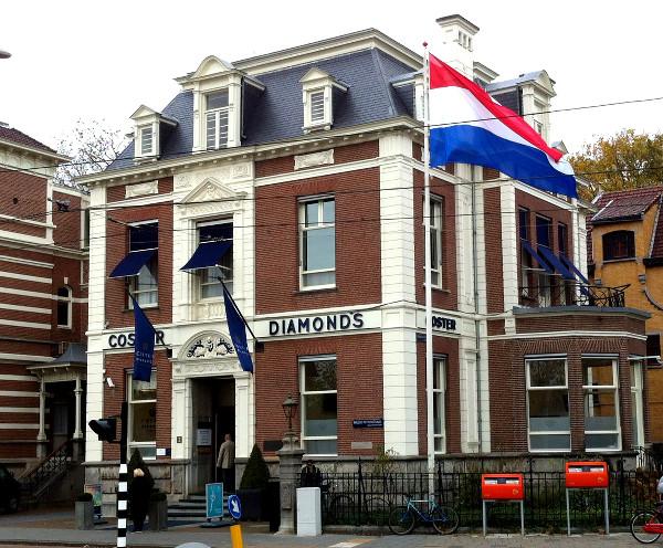 bâtiment Coster Diamonds - Amsterdam - blog Bar à Voyages