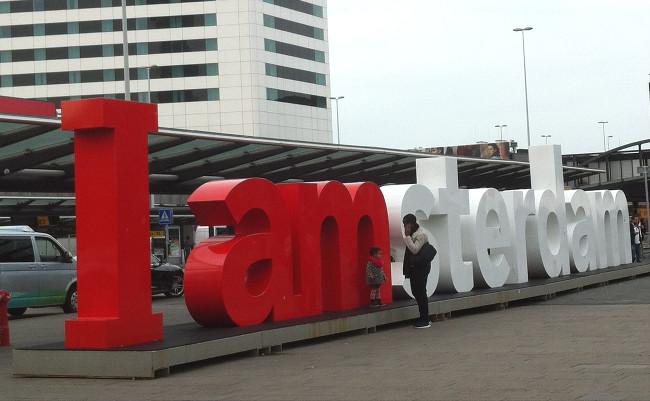 logo I Amsterdam - blog Bar à Voyages
