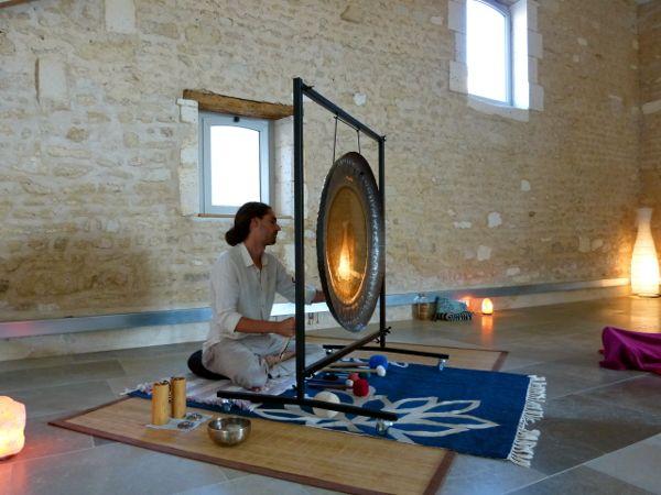 Bain de gong