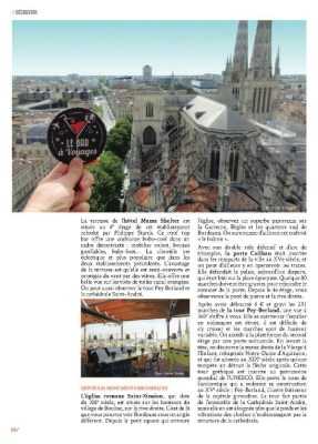 article sur Bordeaux panoramique dans le magazine MaVilleAMoi n°41
