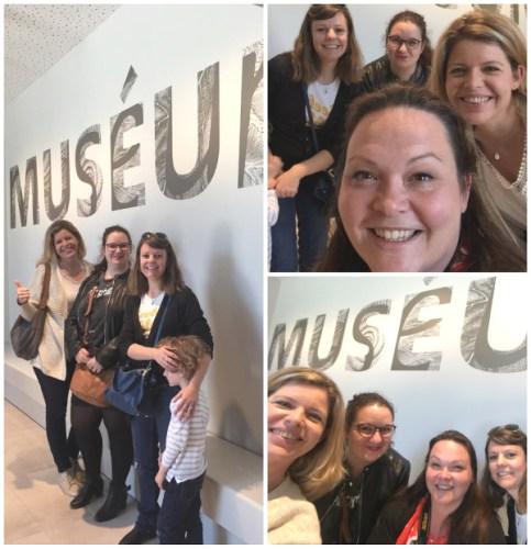 les blogueuses invitées à la visite du Muséum de Bordeaux
