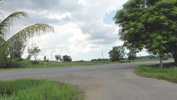 bretelle d'accès à l'autoroute à La Havane, Cuba