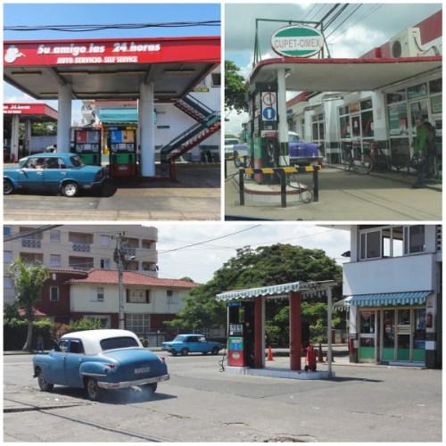 stations essence à Cuba