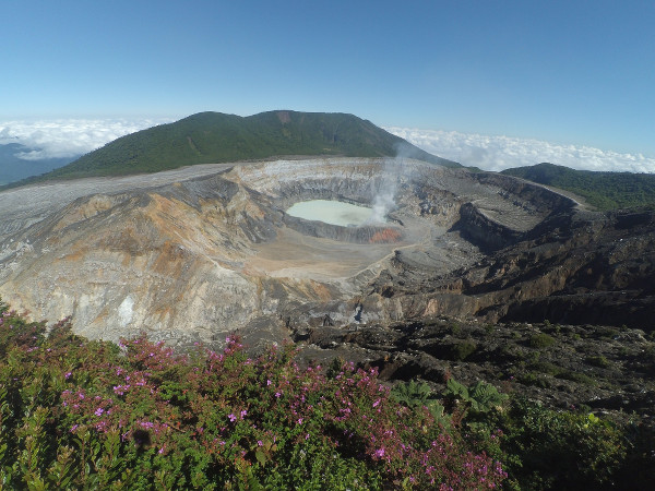 Le volcan Poás