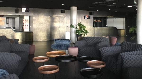 le salon VIP de l'Arkea Arena