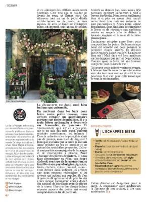 page 3 article Echappée Bière magazine MaVilleAMoi n°49