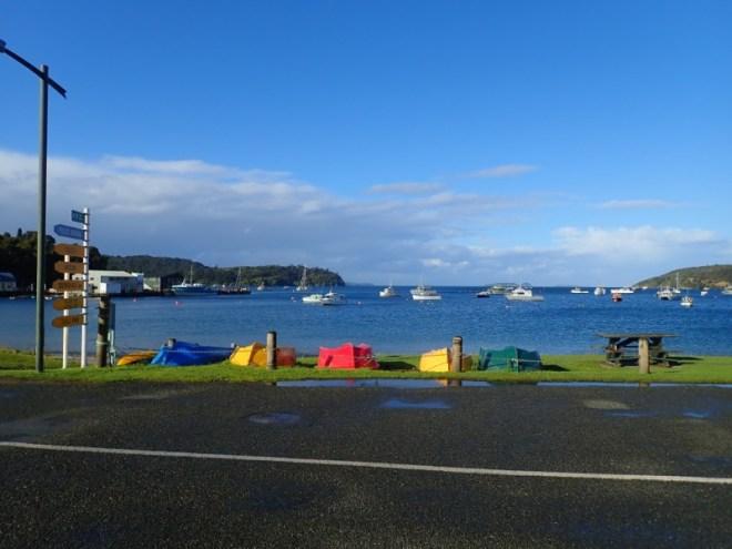 Port d'Oban en Nouvelle-Zélande