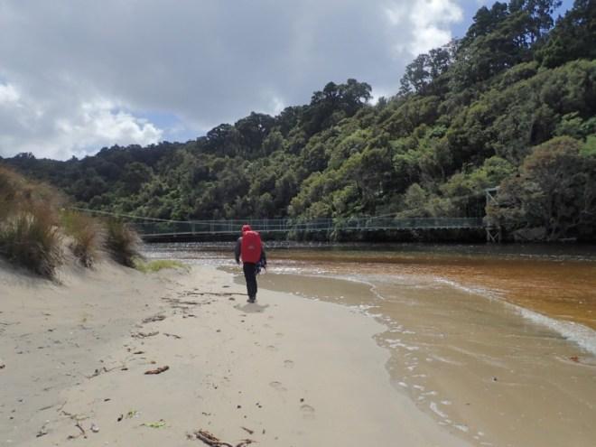 Rando en nouvelle-zélande : de plage en ponts