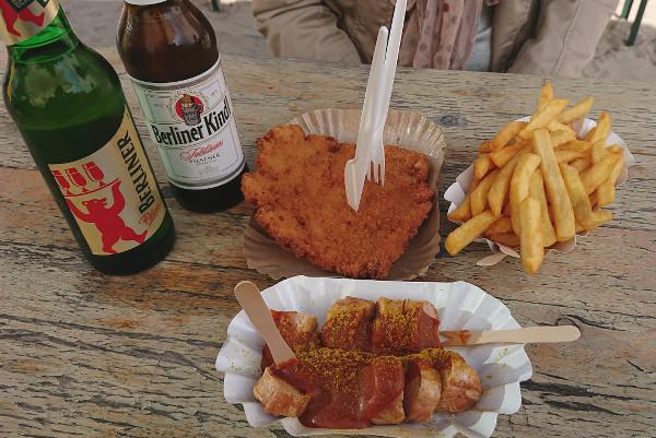 wurst, frites et bières