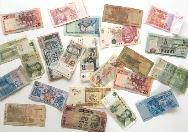billets de banque de monnaies étrangères
