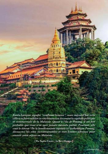 page 2 de l'article sur la Malaisie paru dans le magazine Esprit Berry n°8