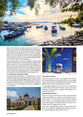 page 5 de l'article sur la Malaisie paru dans le magazine Esprit Berry n°8