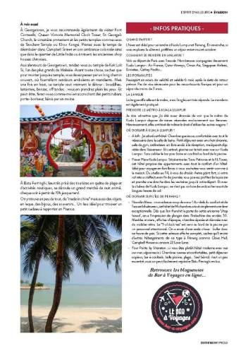 page 6 de l'article sur la Malaisie paru dans le magazine Esprit Berry n°8