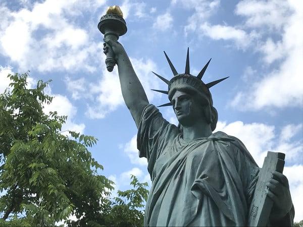 La Statue de la Liberté à Bordeaux