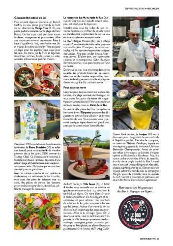 page 6 de l'article sur Hossegor paru dans le magazine Esprit Berry n°9