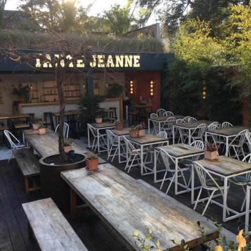 terrasse du restaurant Tante Jeanne, à Hossegor