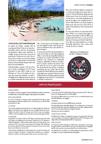 Article page 5 Cuba Esprit Berry n°10
