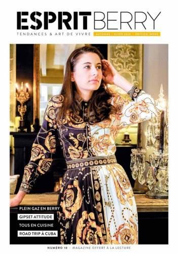 Couverture du magazine Esprit Berry n°10