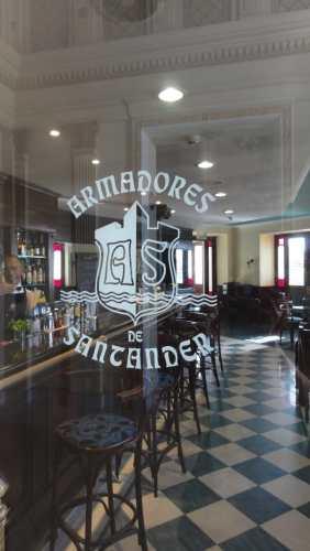L'entrée de l'hôtel Armadores de Santander à La Havane