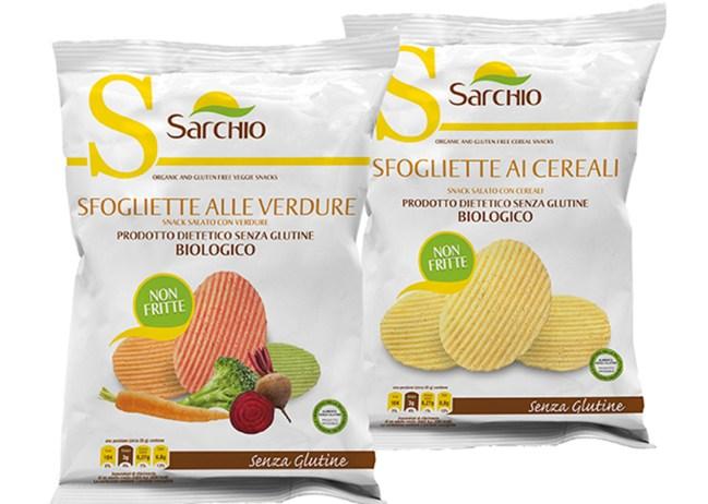 Sfogliette Alle Verdure e ai Cereali Sarchio