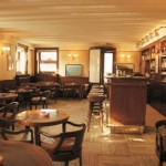Il famoso harry's bar a Venezia