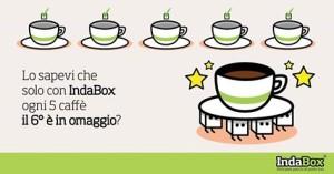 La nuova tessera di IndaBox dedicata al caffè