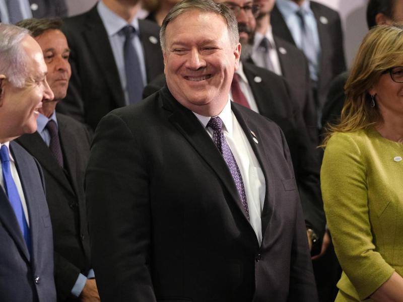 """مايك بومبيو يصف إيران بأنها """"عنصر مزعزع للاستقرار في الشرق الأوسط"""""""