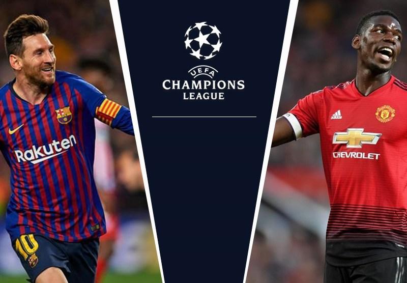 التشكيلة المتوقعة لمباراة برشلونة ومانشستر يونايتد فى دوري ابطال اوروبا اليوم الثلاثاء