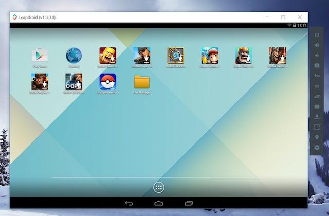 تنزيل LeapDroid أفضل محاكي Android بنظام التشغيل ويندوز