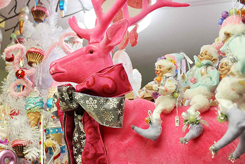 Blooms Unfold Baraboo Reindeer Decor Decoration Christmas