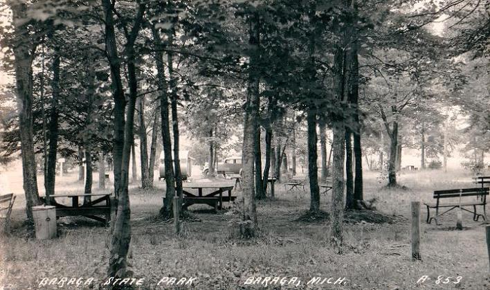 Image result for baraga state park old picture