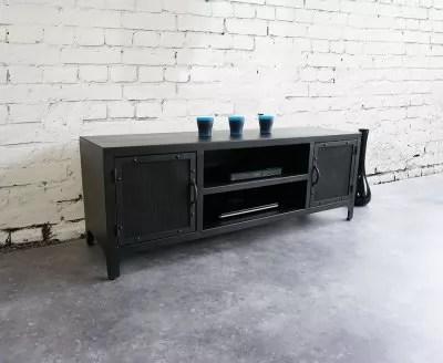 meuble tv metal chicago