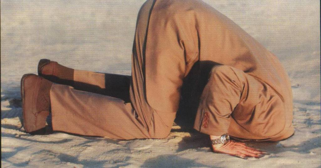 מדוע אסור לכם לטמון את הראש בחול?