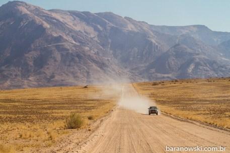 Namíbia - Estradas