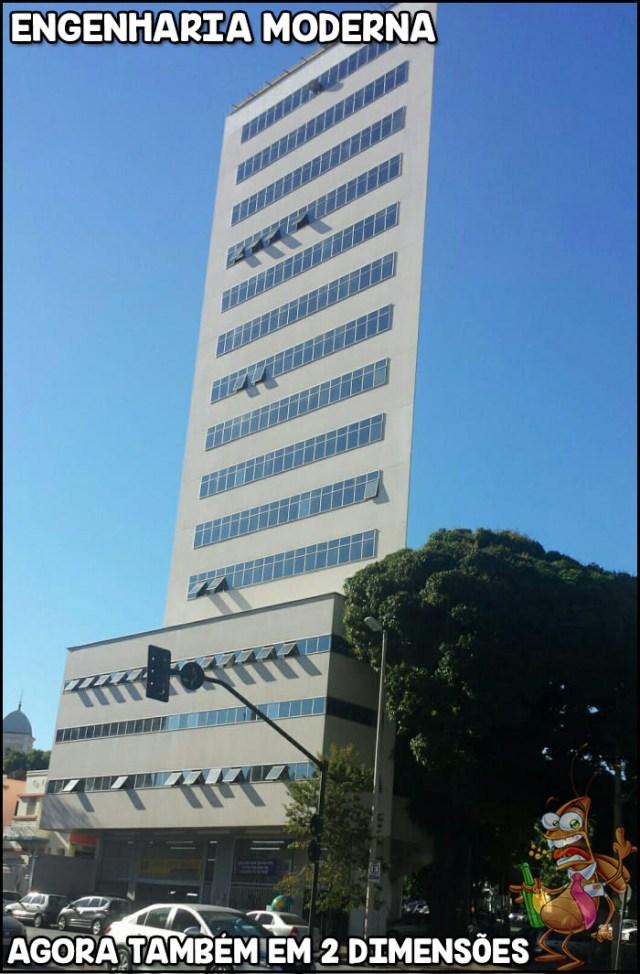 Primeiro prédio em 2D