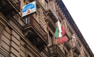 La sede del Msi-An Catania