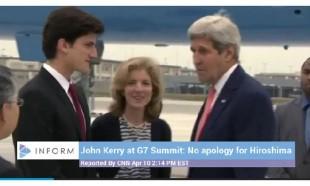 John Kerry a Hiroshima