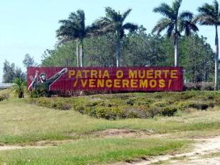 Patria o muerte, slogan castrista a Cuba