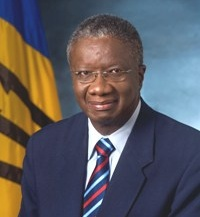 The Rt. Hon. Freundel Stuart - Prime Minister of Barbados
