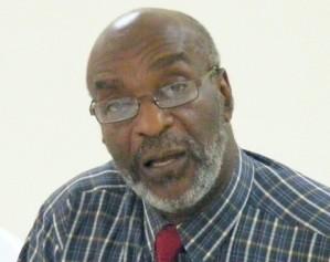 NUPW General Secretary Dennis Clarke