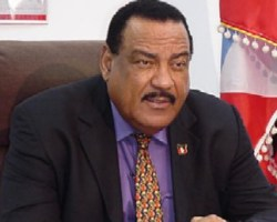 Former Antigua & Barbuda Prime Minister and former leader of the Antigua Labour Party, Lester Bird.