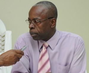 Acting Director of the National Disabilities Unit, Lloyd Springer