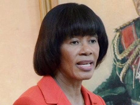 PNP leader Portia Simpson Miller.