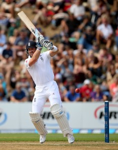 Matt Prior's swift innings propelled England's late order effort.