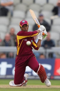 Merissa Aguilleira led the Windies Women to victory.