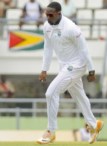 Off-spinner Shane Shillingford destroyed the Zimbabweans.